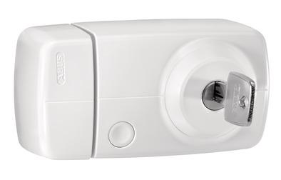 Secvest Funk-Türzusatzschloss mit Innenzylinder – 7025 E (weiß)