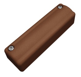 Aufputz-Schraubverteiler 5-polig (braun)