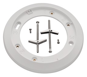 Ceiling recessing ring