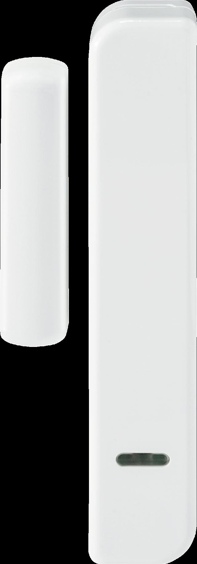 Secvest Schmaler Funk-Öffnungsmelder (weiß) Vorderansicht