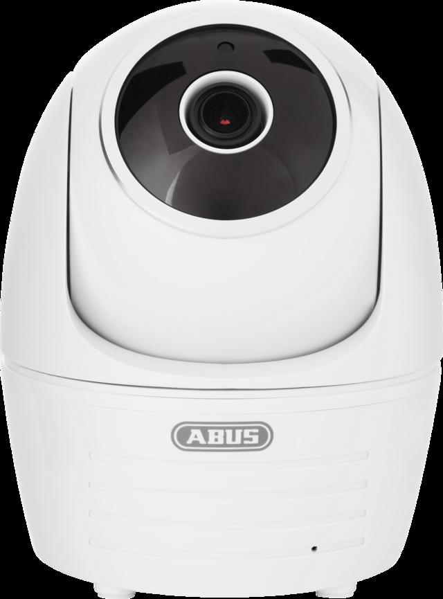 ABUS Smart Security World WLAN Innen Schwenk-/Neige-Kamera - Full HD App-Kamera mit Infrarot Nachtsicht und Gegensprechfunktion (PPIC32020)