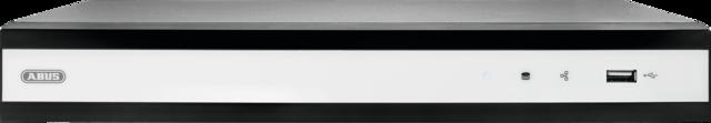 ABUS IP Videoüberwachung 8-Kanal Rekorder - Web- und mobiler Zugriff auf Live-Ansicht und Wiedergabe mit iDVR Plus App (TVVR36700)