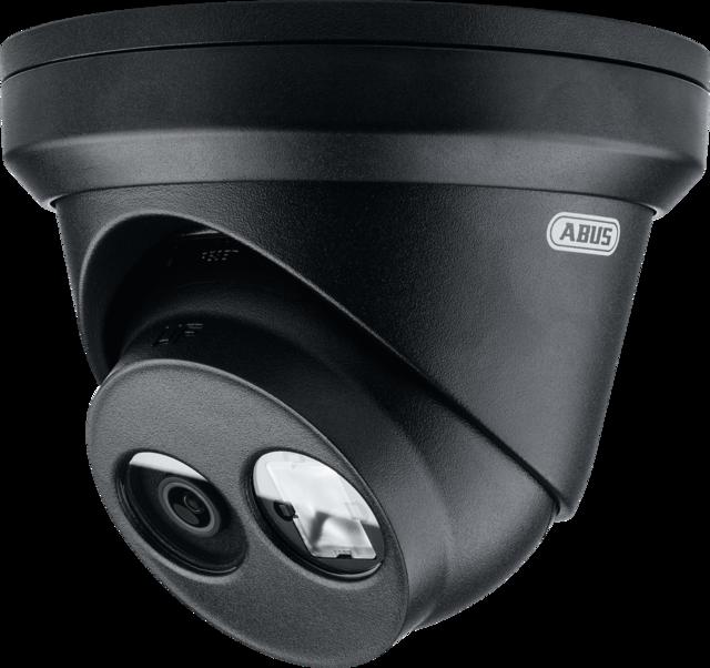 IP Dome 8 MPx Schwarz (4K, 2.8 mm)