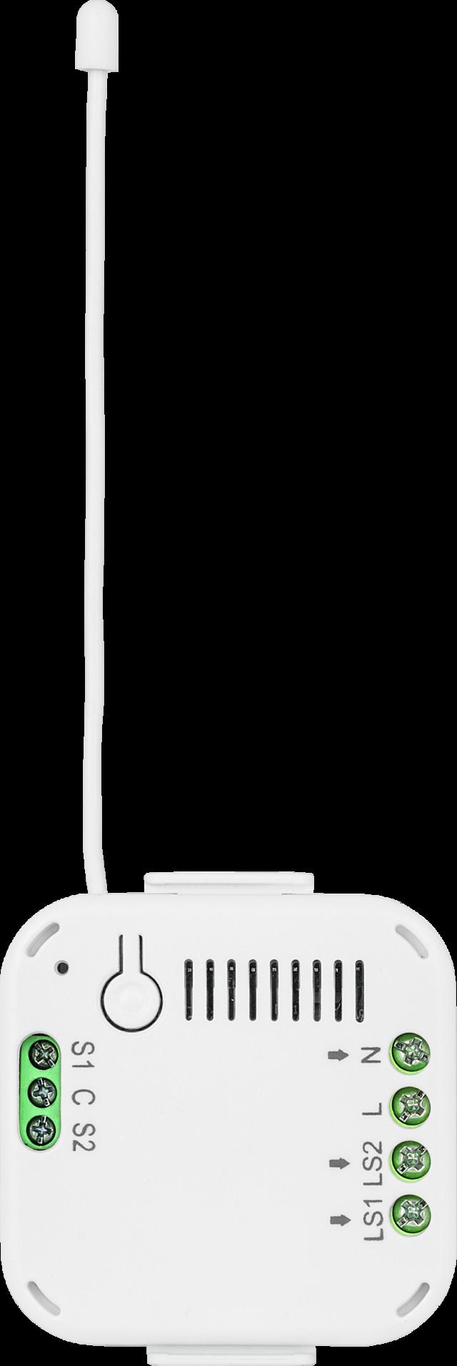 Nexello 230V Relaismodul Unterputz 2I/2O