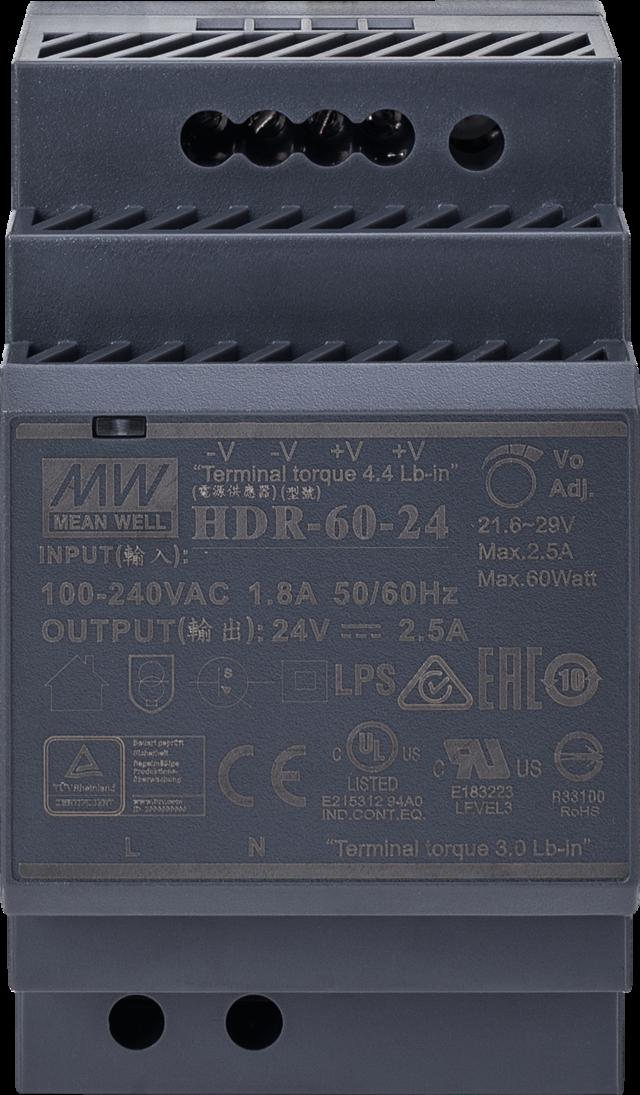 24V DC Netzteil für Hutschiene