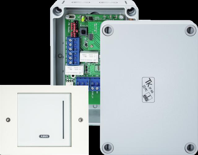 WLX Pro Wall Reader-Set IP44 Industrial Intrusion weiß