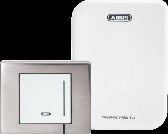 WLX Pro Wall Reader-Set IP67 Intrusion weiß