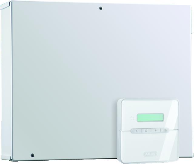 Terxon LX Hybrid-Alarmzentrale Rechte Vorderansicht