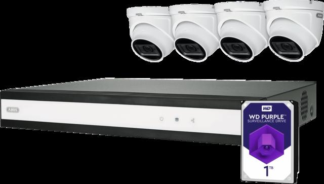 ABUS Analog HD Videoüberwachung 8-Kanal Hybrid Komplettset