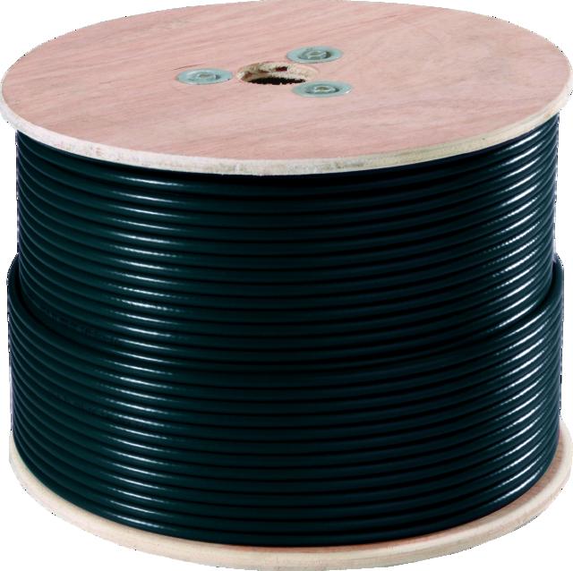 Video-Triplex-Kabel 250 m Vorderansicht
