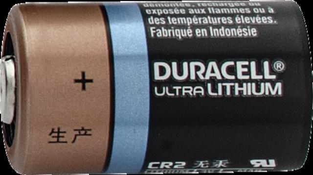Duracell CR 2 3V Batterie CLX