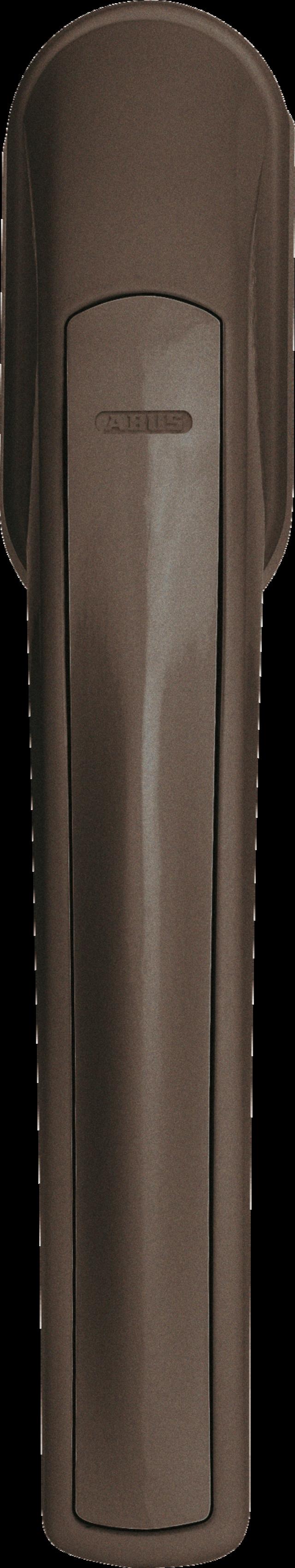 Secvest Funk-Fenstergriff FG 350 E (braun) Vorderansicht