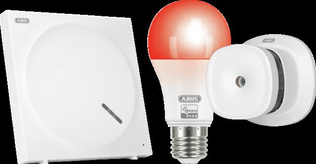 ABUS Z-Wave Sicherheits-Set Schutz vor Brandschäden