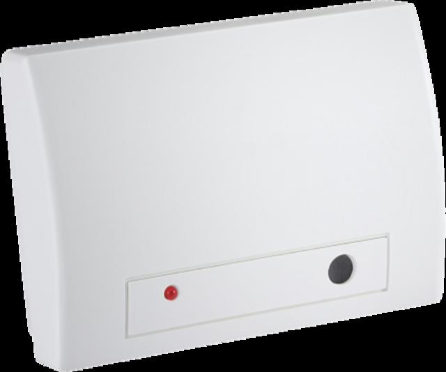 Secvest Funk-Glasbruchmelder - erkennt und meldet das Geräusch von zerbrechendem Glas (FUGB50000)