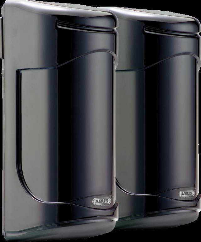 Dual-Infrarot-Lichtschranke 30 m Rechte Vorderansicht