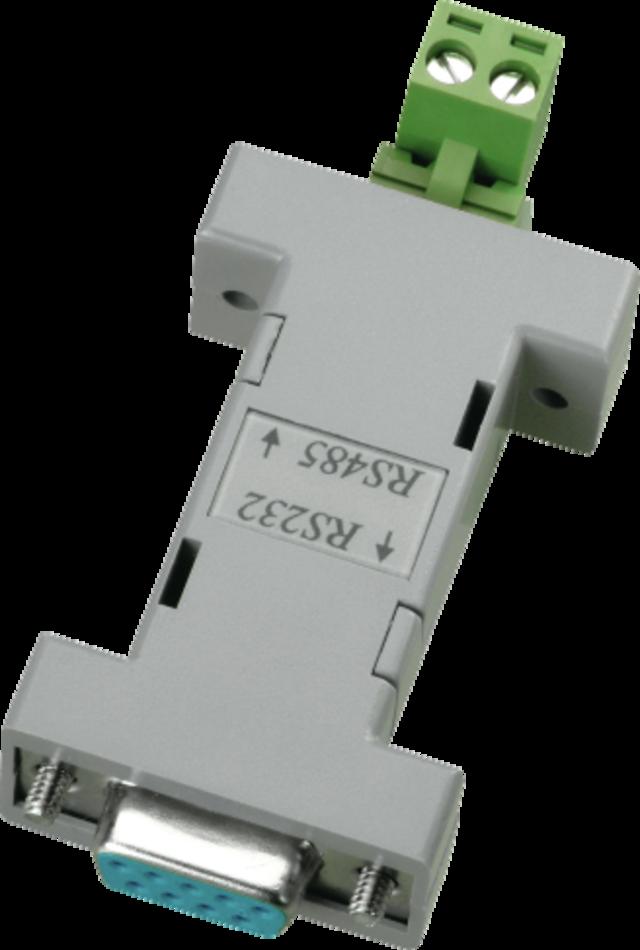 Schnittstellenkonverter RS-232 auf RS-485 Vorderansicht