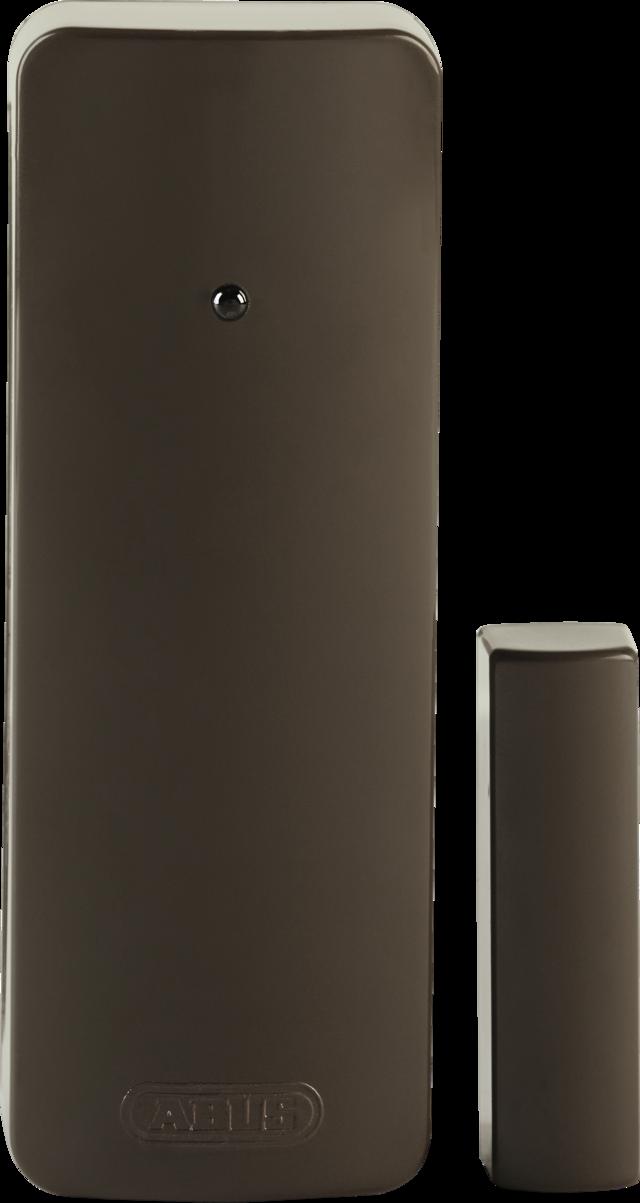 Secvest Funk-Öffnungsmelder (CC) braun - zuverlässige Detektion geöffneter Türen und Fenster (FUMK50000B)