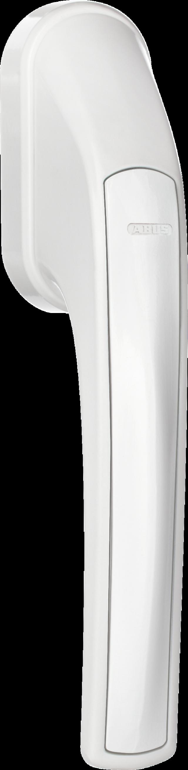 Secvest Funk-Fenstergriff FG 350 E (weiß) Rechte Vorderansicht
