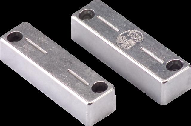Öffnungsmelder für Stahltüren Vorderansicht