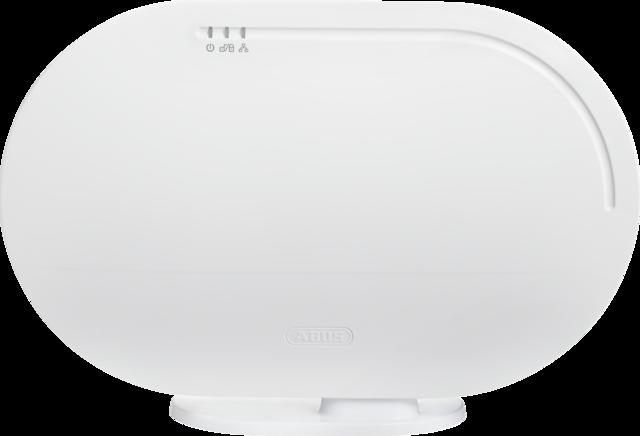 ABUS Smartvest Funk-Alarmanlage & App Zentrale – schnelle Plug & Play Selbst-Installation ohne Bohren oder Verdrahten (FUAA35010A)