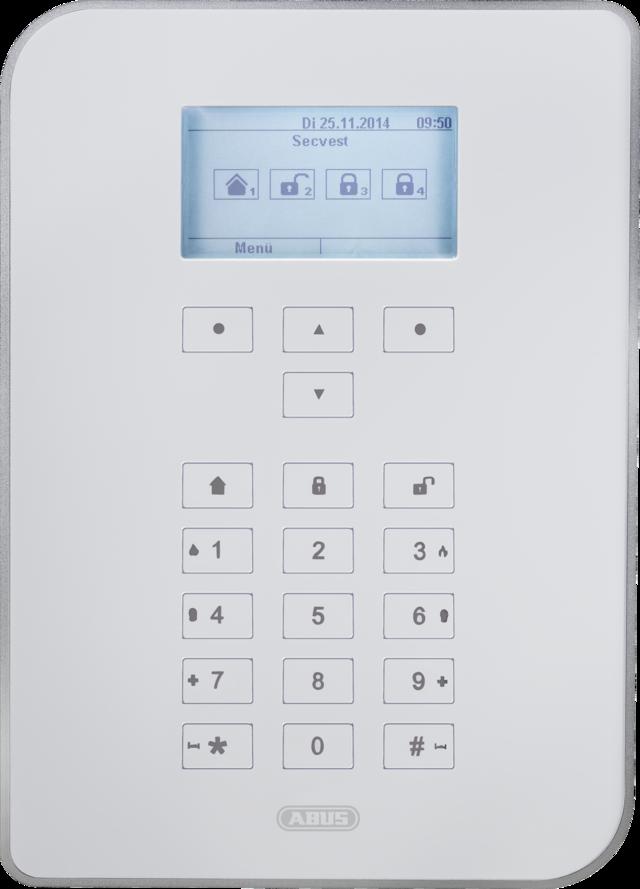 ABUS Secvest Funk Alarmanlage – Funkalarmanlage mit Videoverifikation, App-Steuerung und Mechatronik (FUAA50000)