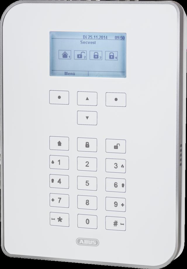 ABUS Secvest Funk Alarmanlage – Funkalarmanlage mit Videoverifikation (FUAA50000)