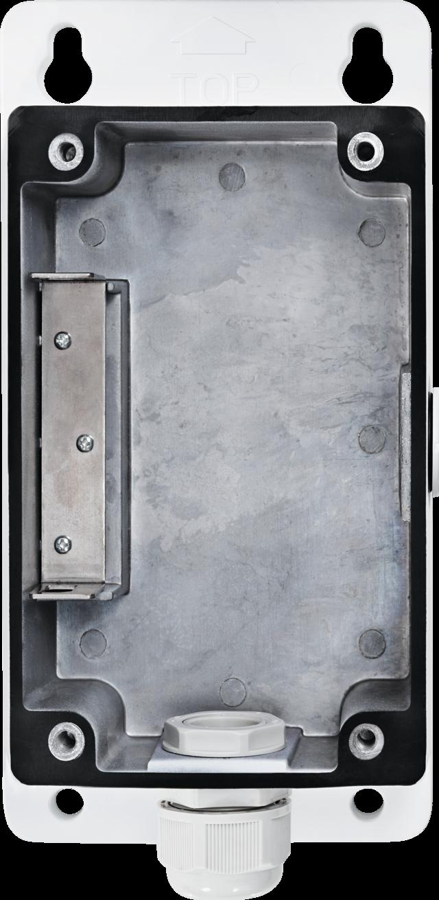 Installationsbox für Wandhalterung Dome Kameras