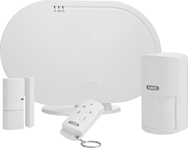 Smartvest Funk-Alarmanlage & App - Basis Set – smartes Komplettset für Sicherheit zur Selbstmontage (FUAA35001A)