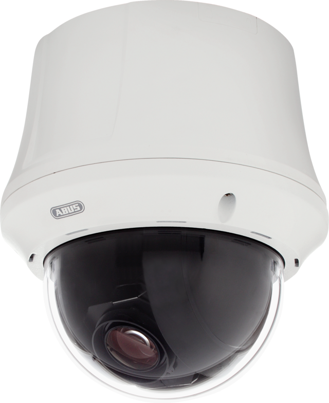 Innen Analog HD 23 x PTZ Dome 720p Linke Vorderansicht