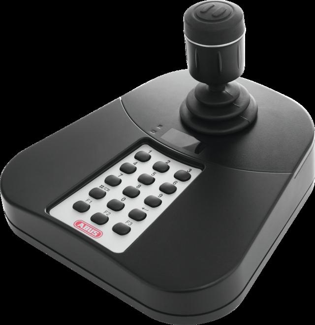 USB Keyboard für ABUS CMS/NVR Linke Vorderansicht