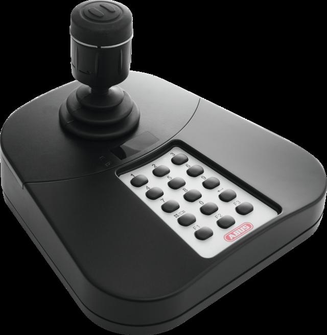 USB Keyboard für ABUS CMS/NVR Rechte Vorderansicht