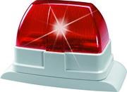 Draht-Blitzleuchte (rot)
