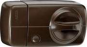 Secvest Funk-Türzusatzschloss mit Drehknauf – 7010 E (braun)
