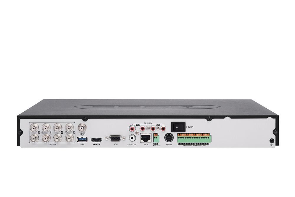 8-Kanal Analog HD Videorekorder Rückansicht