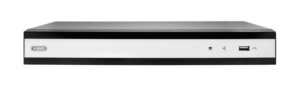 ABUS IP Videoüberwachung 4-Kanal Rekorder - 4K HDMI-Ausgang für die gleichzeitige native Ansicht von vier Full HD (2MPx) IP-Kameras(TVVR36300)