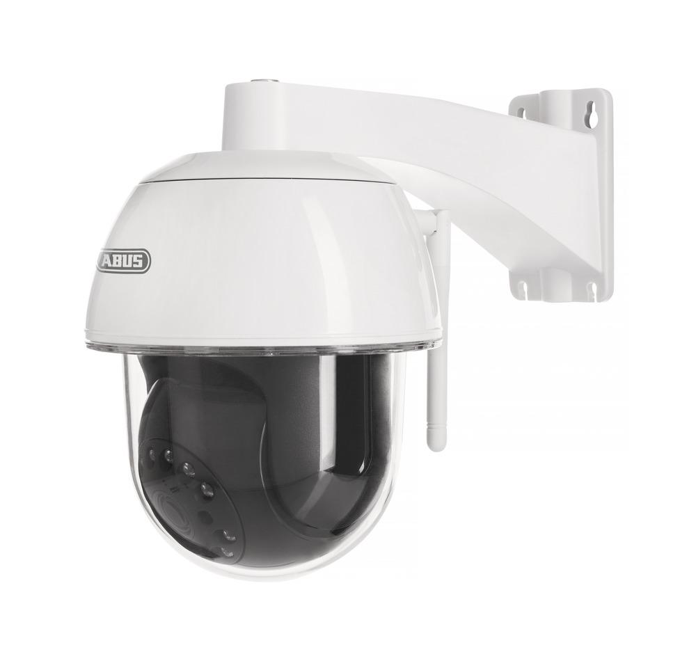 ABUS Smart Security World WLAN Außen Schwenk-/Neige-Kamera - Full HD App-Kamera mit Infrarot Nachtsicht und Gegensprechfunktion (PPIC32520)