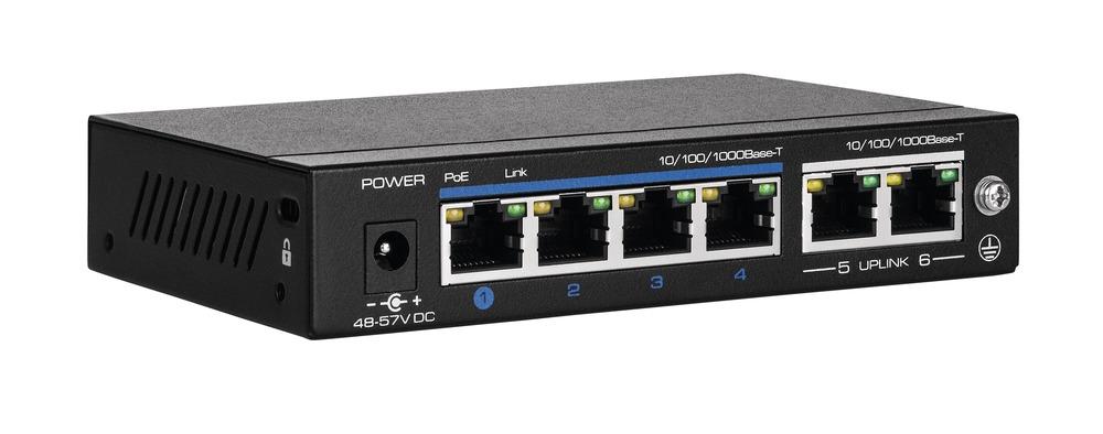4-Port PoE Gigabit Switch