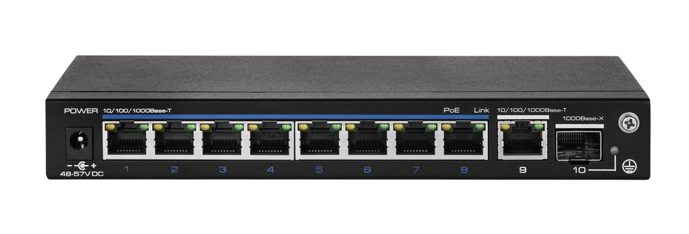 8-Port PoE Gigabit Switch