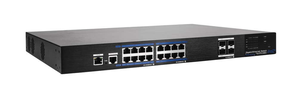16-Port PoE Gigabit Switch Managed