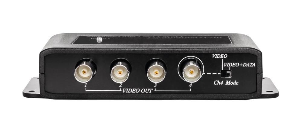 4x Analog HD Signalverteiler