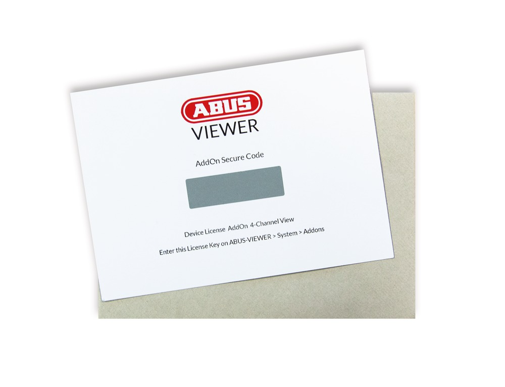 ABUS Quad View Add-on für ABUS IP Camera Viewer