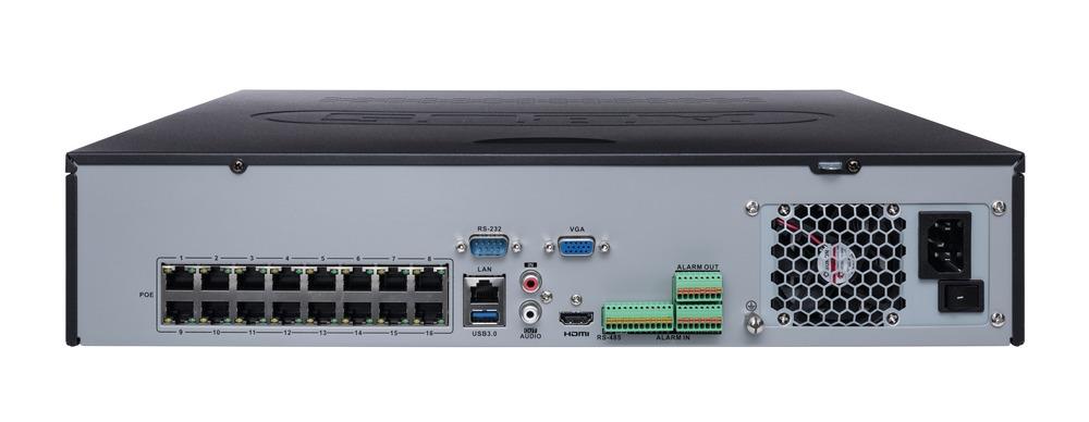16-Kanal PoE Netzwerkvideorekorder (NVR)