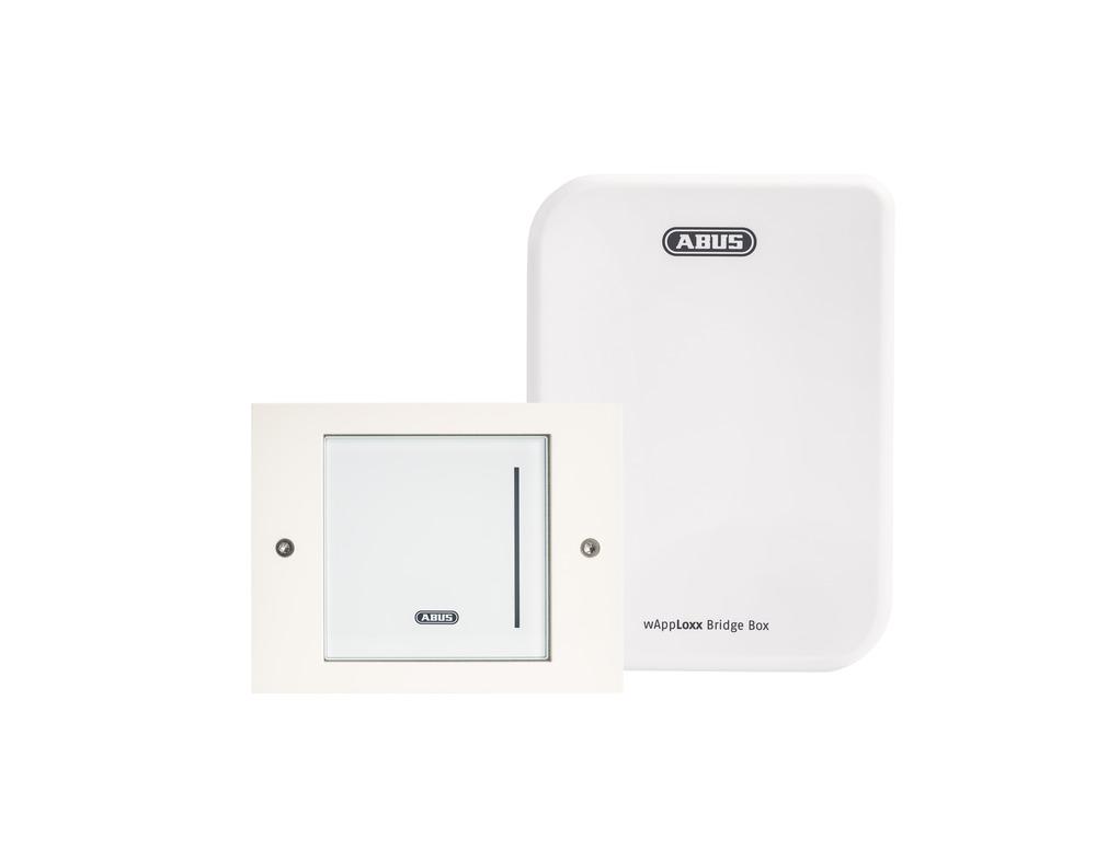 WLX Pro Wall Reader-Set  Intrusion weiß
