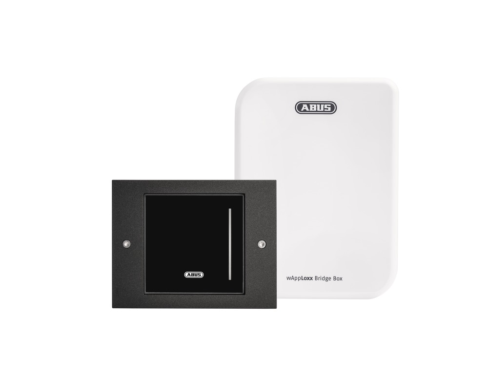 WLX Pro Wall Reader-Set  Intr. schwarz
