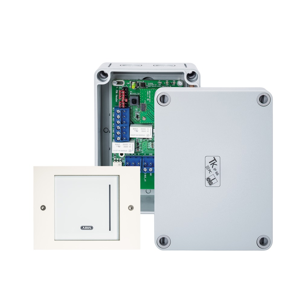 WLX Pro Wall Reader-Set IP44 Industrial Access weiß