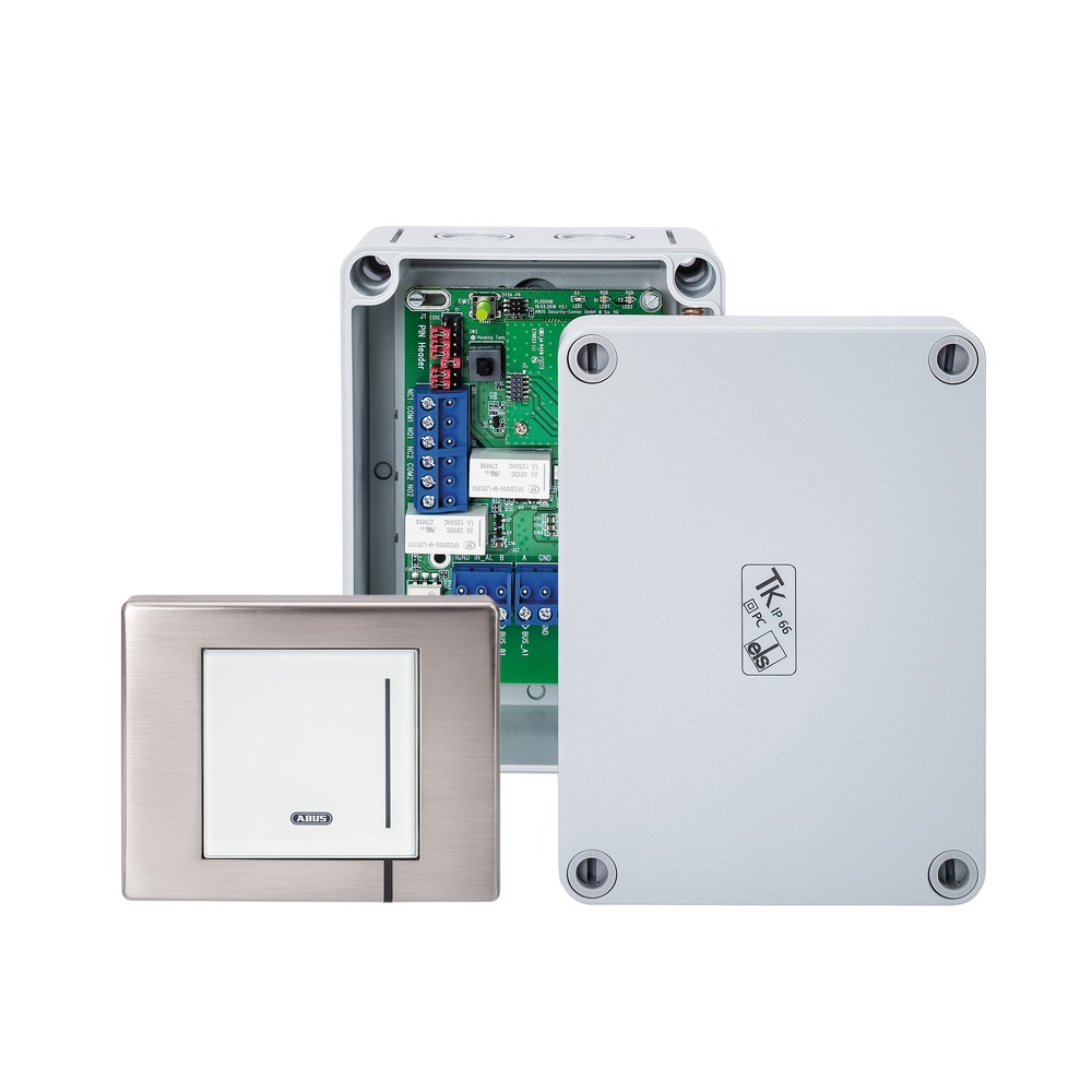 WLX Pro Wall Reader-Set IP67 Industrial Access weiß