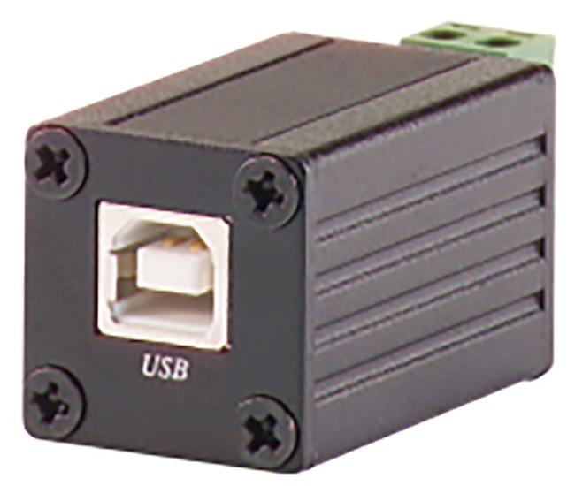Schnittstellenkonverter USB auf RS-485 Vorderansicht