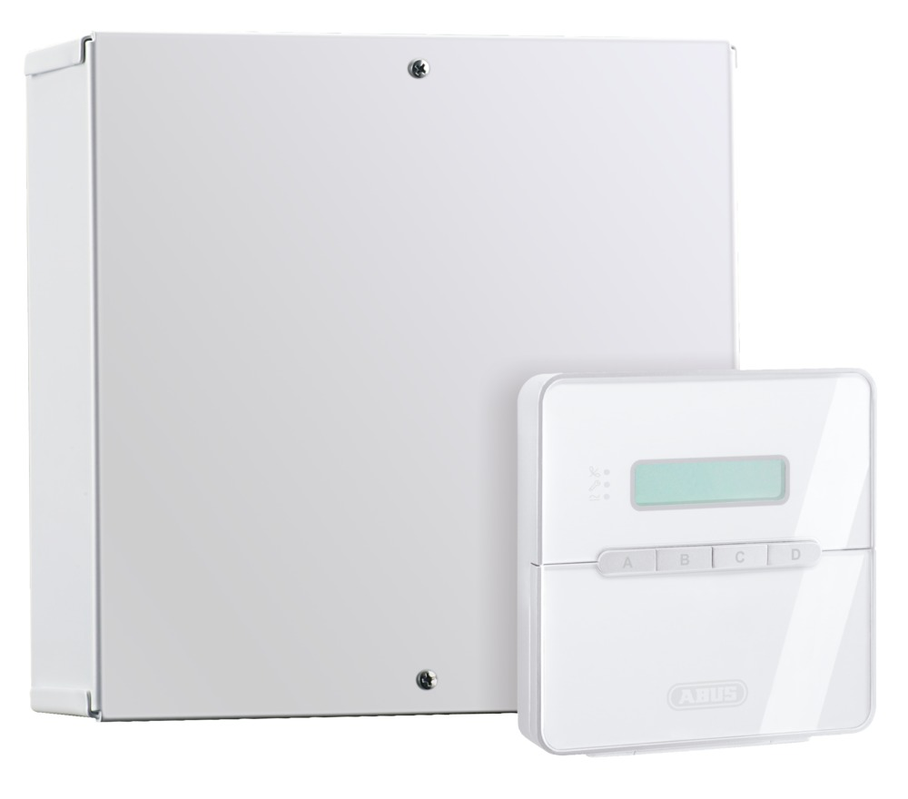 ABUS AZ4000 Terxon SX Draht-Alarmanlage Einbruchmelde Alarmzentrale  B-Ware