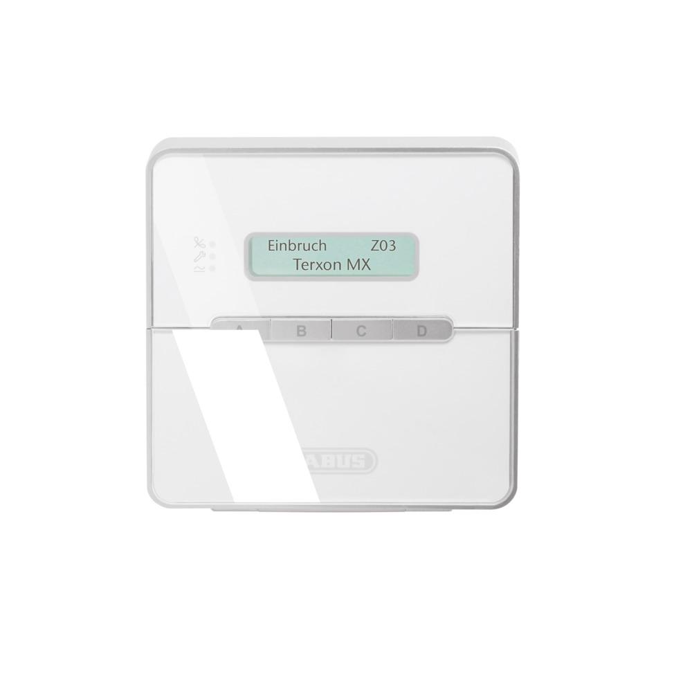 Terxon LX LCD-Bedienteil Vorderansicht