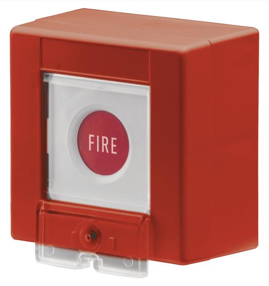 Papiereinsatz für Funk-Feuertaster (5 Stück) Vorderansicht